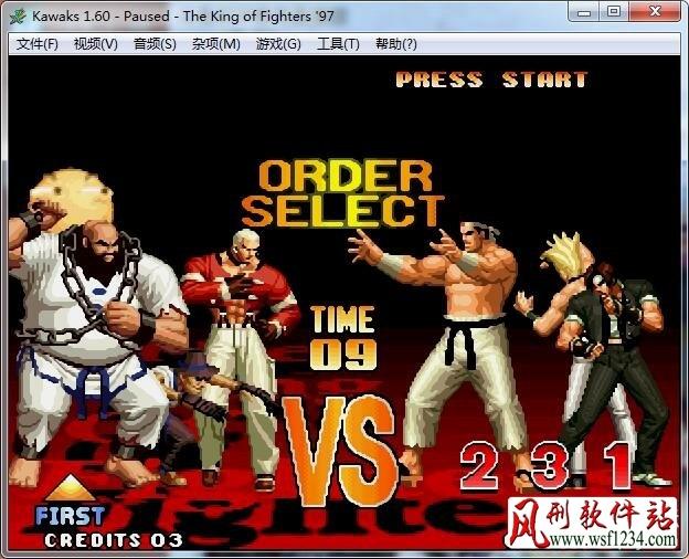 拳皇97滑稽版下载【单机游戏】