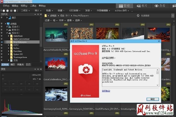 ACDSee Pro v9.3 Build546 简体中文破解版(含注册机)