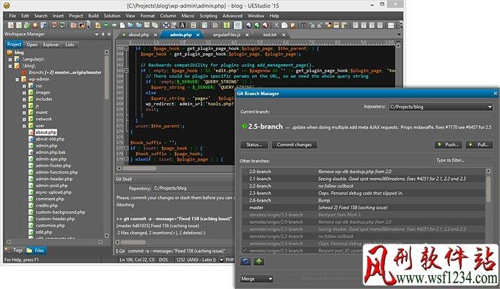代码编辑器 IDM UEStudio v19.20.0.44 中文绿色破解版-风刑软件站